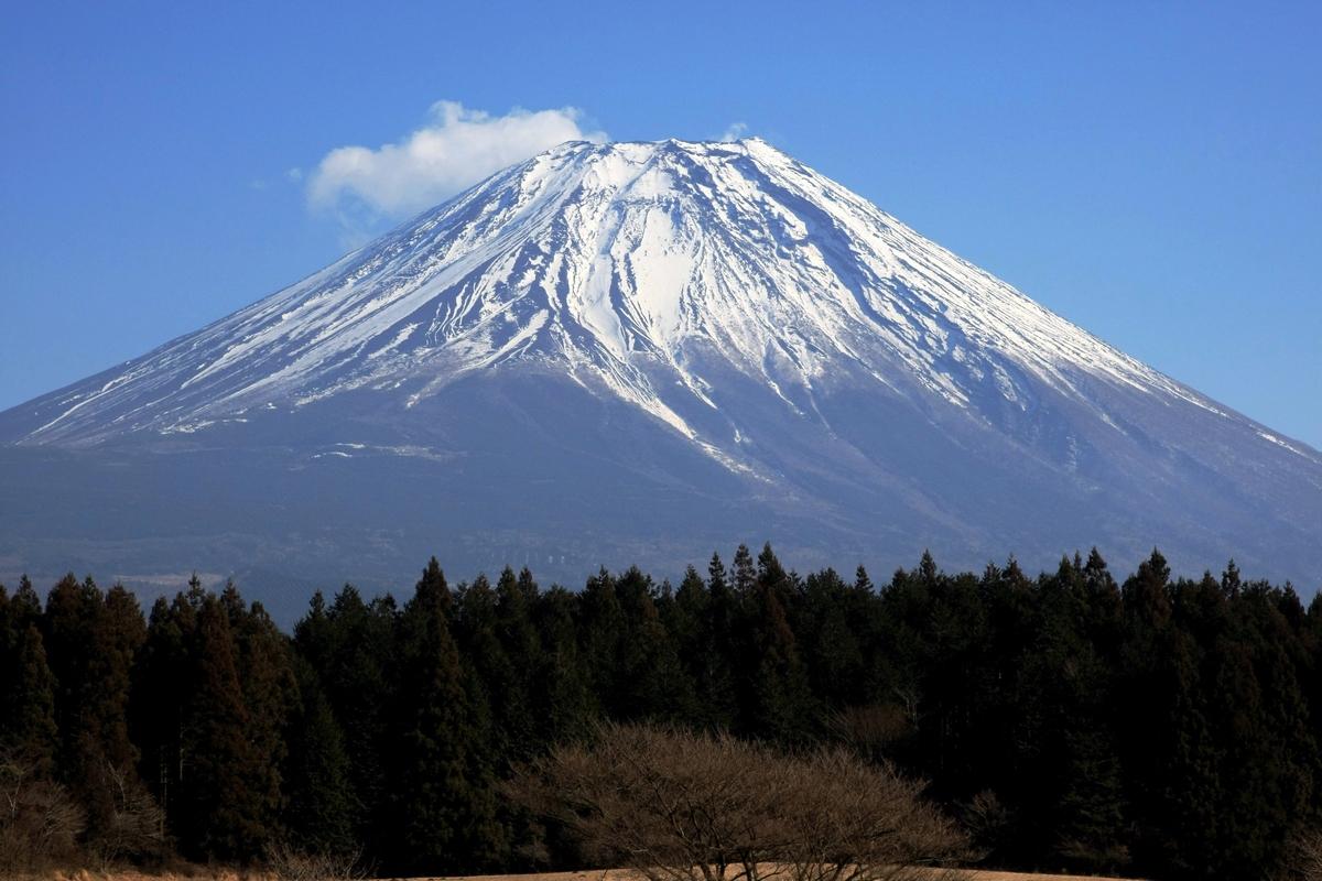 富士山_雪景色