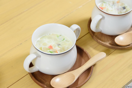 ミルクバタースープ