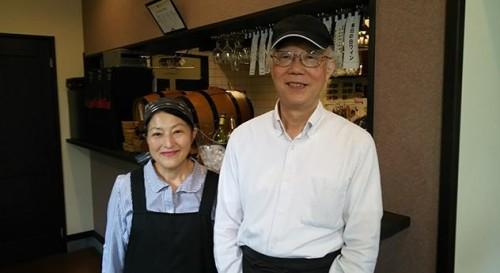 広川隆司さんと真紀子さん